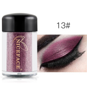 Quartly Makeup Glitter Eyeshadow Shimmer Pigment Loose Powder Beauty Makeup Eye Shadow