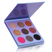 Eyeshadow Palette , Hunzed 9 Colours Makeup Eyeshadow Palette Cosmetic Shimmer Matte Eye Shadow Beauty Makeup