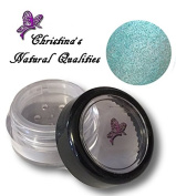 Christina's Natural Qualities All Natural Mineral Powder Pearl Eye Colour (Eyeshadow) - Peacock Blue