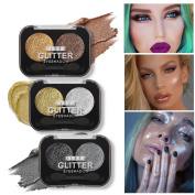USHAS Glitter Eyeshadow Palette Makeup Glitter Eye Palette Maquiagem Profissional Matte Colour Pigment Eye Shadow