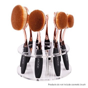 Blend a Contour-10 Professional Oval Makeup Brushes System-