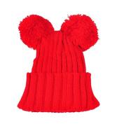 Enjocho Baby Hat,Cute Ball Cap Keep Warm Winter Hats Knitted Wool Hemming For Kids