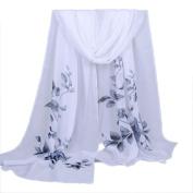 Enjocho Women's Fashion Scarf,Ladies Long Soft Chiffon Wrap Scarves Shawl