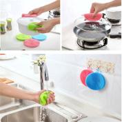 Silicone Dishwasher,Hemlock Dish Washing Silicone Brushes Scrubber Kitchen Cleaning Tools