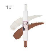 KISSBUTY4 Colour Contouring Foundation makeup Concealer Stick Double Extension Contour Stick