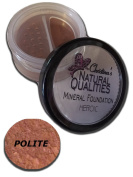 Christina's Natural Qualities Mineral Powder Foundation With Botanicals For Women of Colour - Polite