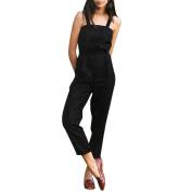 Suspenders Jumpsuits,Hemlock Women's Strap Tops Long Straight Pants Trousers Jumpsuits