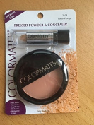 ColorMates Pressed Powder And Concealer Natural Beige 15ml