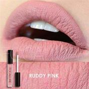 Zytree(TM) Waterproof Long-lasting Lip Gloss Pigment Dark Purple Black Red Velvet Matte Liquid Lipstick Lot Makeup