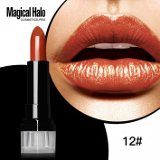 Magical Halo Lipstick, CSSD Frosted Moisturising Lipstick Waterproof Lip Gloss Cosmetics