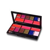 KaiCran 9 Colours Beauty Make Up Lipsticks Moisturiser Lip Gloss Cosmetic Set