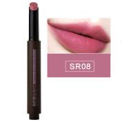 Hunputa Korean Flat Vivid Colour Moisturising Velvet Matte Lipstick Lip Pencil Lip Balm Lipgloss Long Lasting