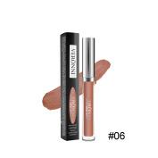 Matte Lip Gloss Waterproof Liquid Lipstick,Natural Colour,Nude Lip Cream, Long Lasting Lip Glosses 5ml#6