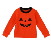 PPBUY Halloween Family Clothes Mother-Child Matching Pullover Blouse