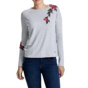 PPBUY Women long Sleeve Printed Hooded Sweatshirt Pullover Top