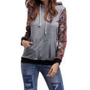 PPBUY Women Casual Hooded Sweatshirt Pullover Hoodie Top Blouse