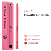 seaNtree Drawing Lip Pencil – Long Lasting Wear, Smooth Application For Vivid Lips (1.1g0ml)