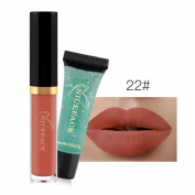 Nibito New 24 Colours Lip Lingerie Matte Liquid Lipstick Waterproof Lip Gloss Makeup