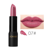 Hunputa Women Trendy Colour Vivid Matte Lipstick Beauty Long Lasting Waterproof Lipstick Lip Gloss
