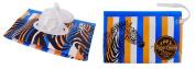 Zebra Safari Wet Wipe Dispenser Case from Bara Lowki