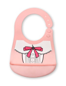 Baby Waterproof Bibs Silicone Bib for Babies and Toddlers with Various Styles Little Princess