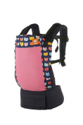 Baby Tula Coast Standard Baby Carrier with Mesh Panel - Meow Meow