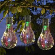 Waterproof Solar Rotatable Outdoor Garden Camping Hanging LED Light Lamp Bulb ,Tuscom