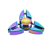Finger Spinner Toy Hand Spinner Toy Finger Spinner Toy EDC Metal Stress Reducer for ADHD ADD Anxiety Autism