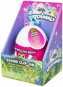 Hatchimals Mystery Minis Sound Clip-On Colleggtibles | Hatchimal egg - each hatchimal inside making unique sounds - Collect each one of them ! - Perfect gift for your child