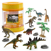 Animal Planet Storage Bucket - Dinosaurs