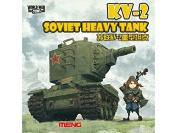 Meng WWT-004 Model - Soviet Heavy Tank Kv-2 World War Toons