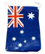 3.7m Australian Flags PVC Bunting Australia Day Party Decoration Banner
