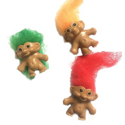 Retro Trolls - Pack of 12 - Party Bag Toy Stocking Filler Classic Novelty