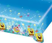 Amscan International 1.2 x 1.8 m Sponge Bob Plastic Table Cover