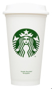Starbucks Travel Coffee Cup Reusable Recyclable Spill-proof BPA Free Dishwasher Safe - Grande 470ml