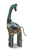 Giraffe Shaped Cork Cage Caddy - Displays And Stores Wine Corks