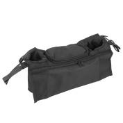 Stroller Organiser with Removable Shoulder Strap, Universal Fit, Premium Quality Nappy Bag & Stroller Cup Holder