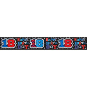 Simon Elvin Happy 18th Birthday Foil Party Banner (One Size)