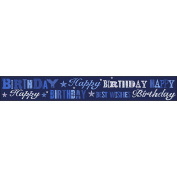 Simon Elvin Best Wishes Foil Party Banner (One Size)