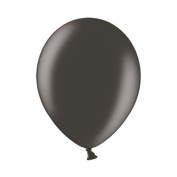Belbal 30cm Metallic Black Balloons (Pack Of 100) (One Size)