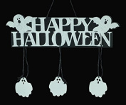 Halloween Pumpkin Banner Pumpkin Ornament Photo Props Hanging Decorations Party Signs Accessory