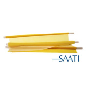 Saatilene HiTex Yellow 196 Mesh 55 Micron Thread - 150cm x 1 yard