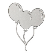 Carbon Steel Cute Balloon Style Embossing Cutting Dies Stencils Templates Mould for DIY Scrapbooking Album Paper Card