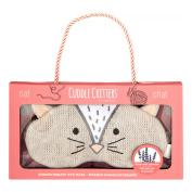 Therawell Cuddle Critters Aromatherapy Eye Mask, Cat