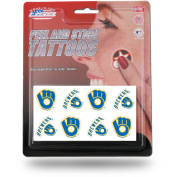 MILWAUKEE BREWERS 8-PC TATTOO SET