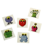 Monster Temporary Tattoo - 72ct