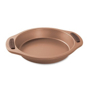 Nordic Ware 48743 Freshly Baked Round Cake Pan, 23cm , Copper