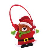 AMA(TM) Cute Christmas Gift Bags Sweet Candy Stocking Bags Handbag Xmas Festival Home Decor