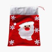 AMA(TM) Christmas Gift Filler Bags Sweet Candy Big Stocking Handbag Xmas Festival Home Decor