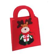 AMA(TM) Cute Christmas Gift Filler Bags Sweet Candy Big Stocking Handbag Xmas Festival Home Decor